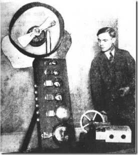 George Antheil with machines