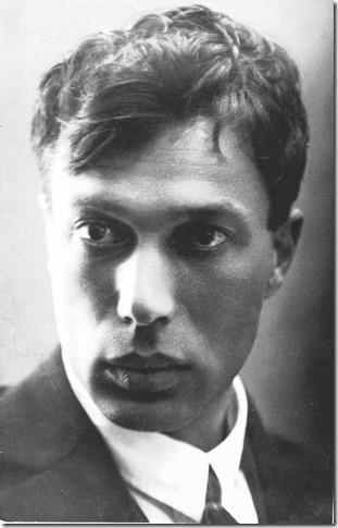 Young Boris Pasternak