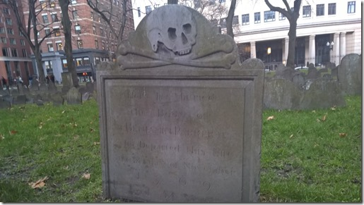 Granary Tombstone Boston