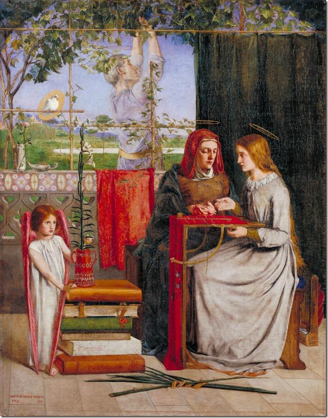 Girlhood of Mary