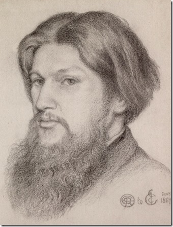Dante Gabriel Rossetti - Ford Madox Brown 1867