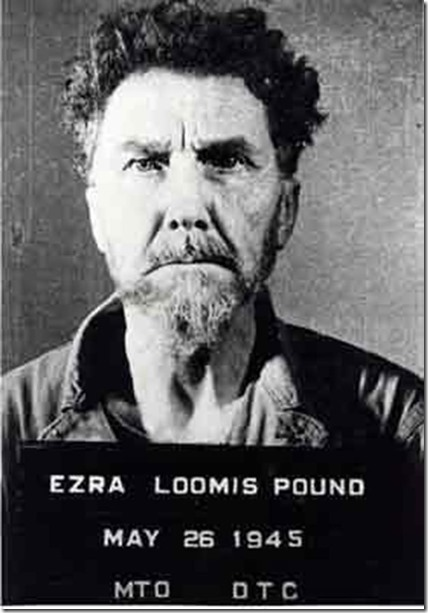 Ezra Pound Booked for Treason
