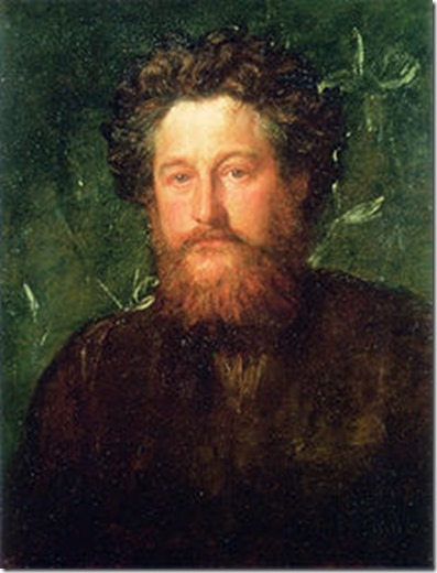 Watts painting of William Morris