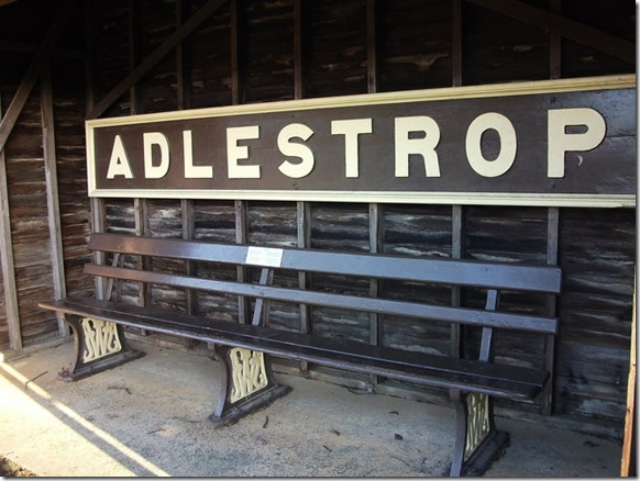 adlestrop station sign