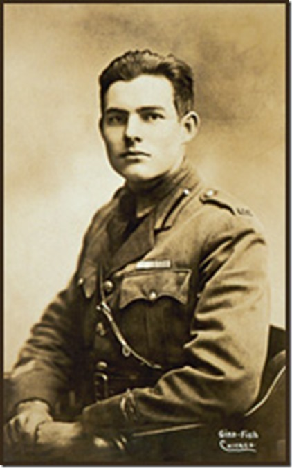 Hemingway in uniform
