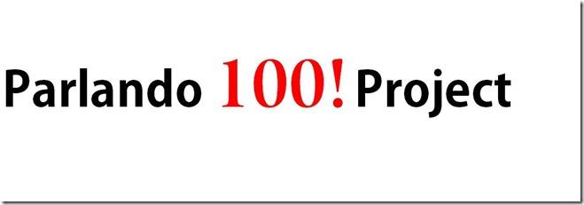 Parlando Project 100th audio piece