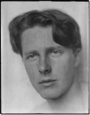NPG P101(a); Rupert Brooke