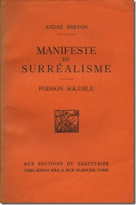 Surrealist Manifesto cover