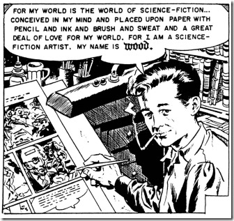 Wally Wood Self Portrait