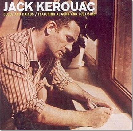 Blues and Haikus Jack Kerouac record cover