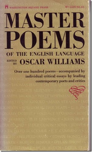 Master Poems of the English Language Cover