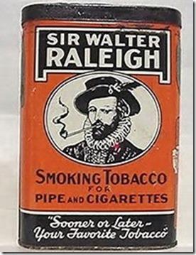 Raleigh Tobacco Tin