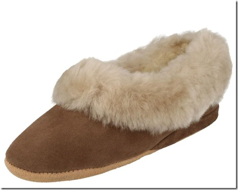 Wool Lined Slipper