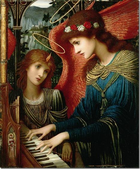 John Melhuish Strudwick - Saint Cecilia