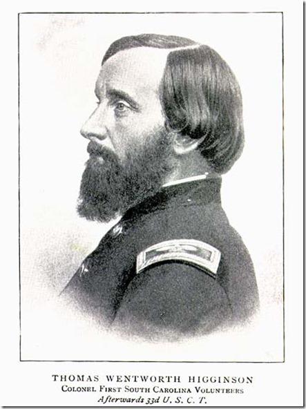 Thomas Wentworth Higginson in uniform