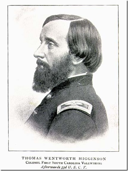 Thomas Wentworth Higginson in uniform