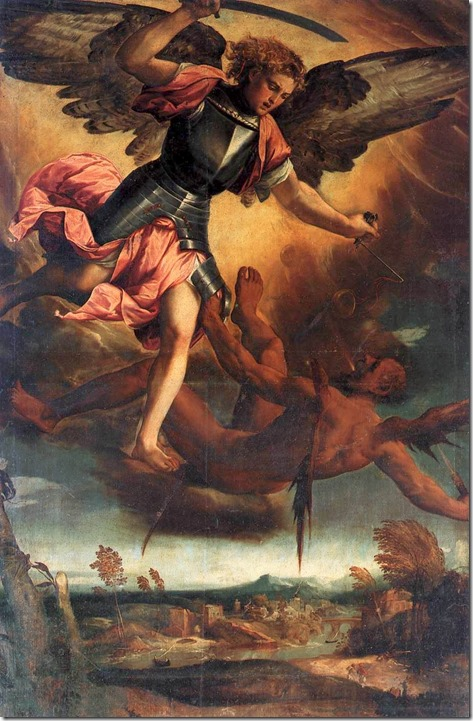 Bonifacio St Michael Vanquishing the Devil