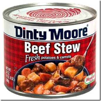 Dinty Moore Beef Stew Can