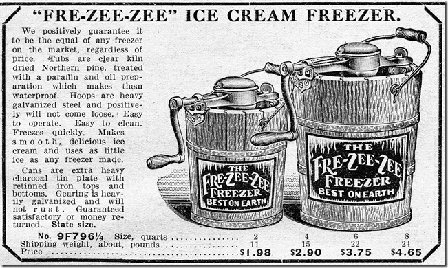 Ice Cream Maker Ad