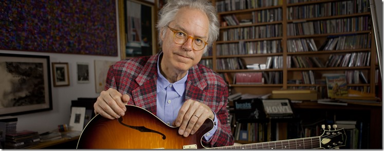 Bill Frissell with books
