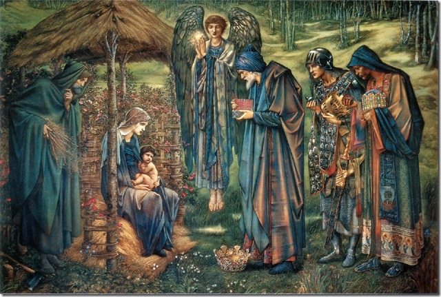 Burne-Jones' Nativity