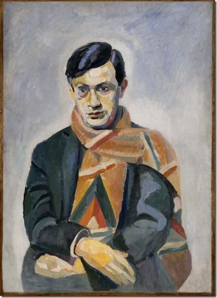 Tristan Tzara by Robert Delaunay