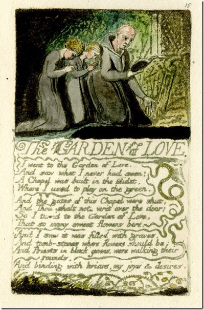Wm Blake The Garden of Love