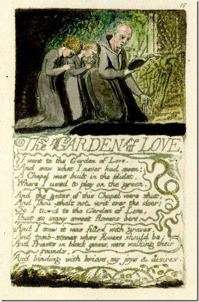 Wm Blake The Garden of Love
