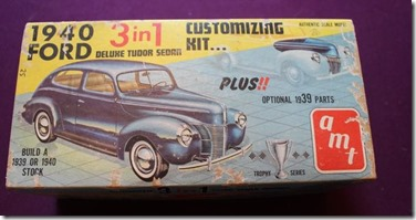 AMT 1940 Ford 3 in 1 model car kit