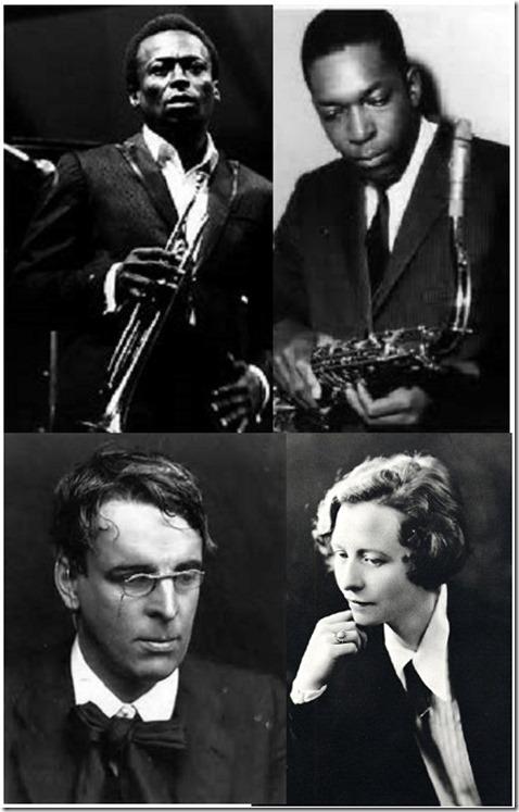 Davis Coltrane Yeats Millay