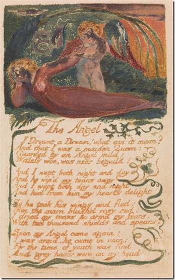 William Blake The Angel