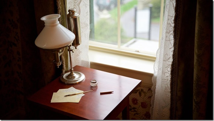 Emily Dickinson's desk