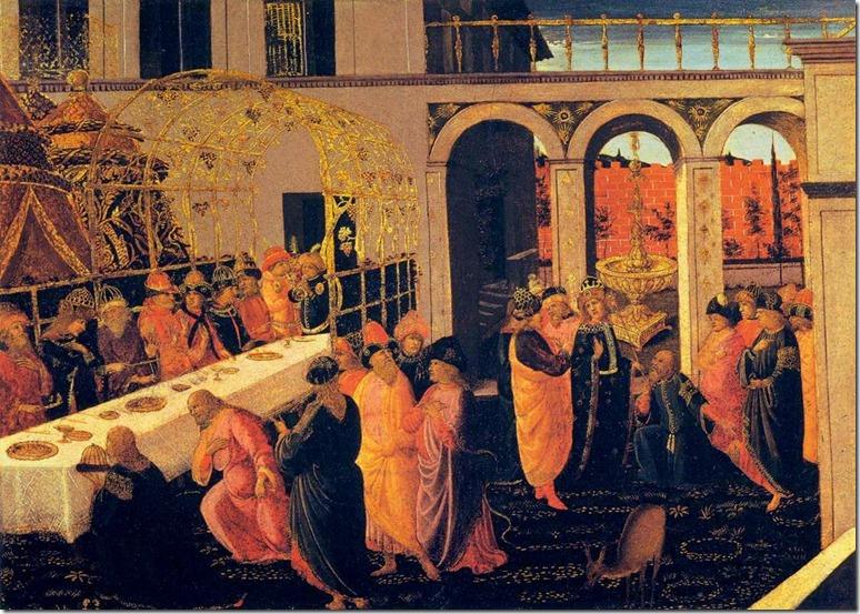 O Banquete de Assuero (c. 1490)