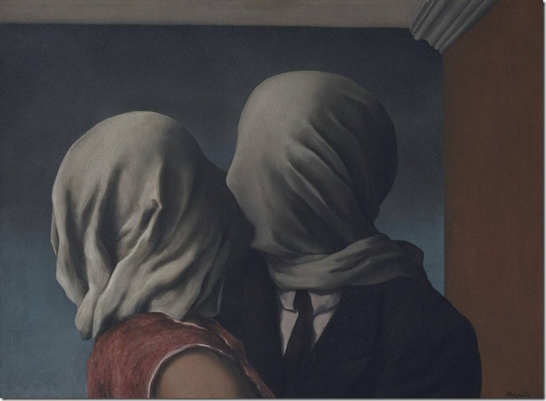 The Lovers by René Magritte