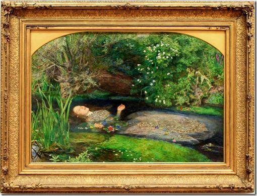 Ophelia by John Millais