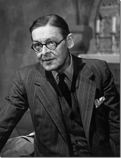 T S Eliot looking very donish