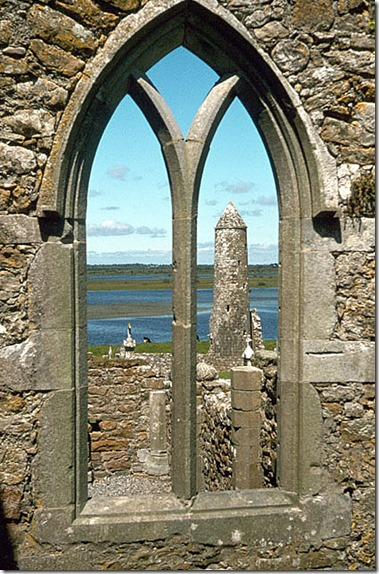 Clonmacnoise tower