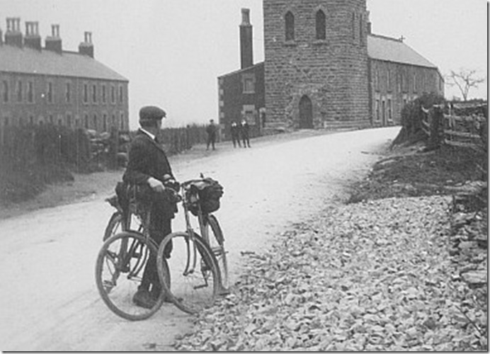 Edward Thomas Easter Bike Trip 1913 crop