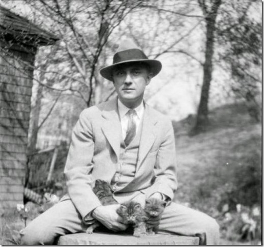 William Carlos Williams with Kittens2