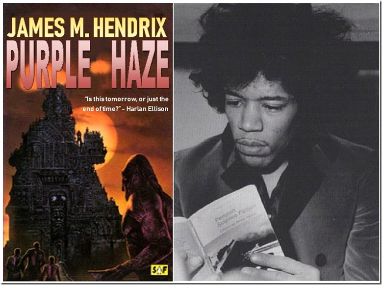James the imagined  author vs Jimi the reader of SF