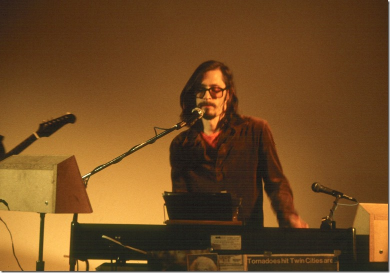 Dave Moore at LYL keys 1982