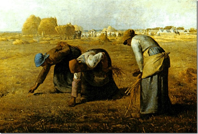 The Gleaners by Francios Millet