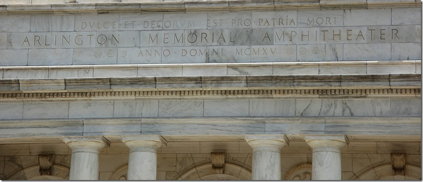 Arlington National Cemetary inscription