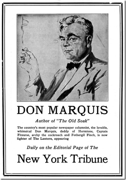 Don Marquis in the Tribune