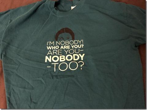 Emily D the T Shirt