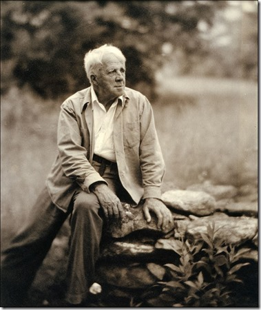 Robert-Frost on a wall