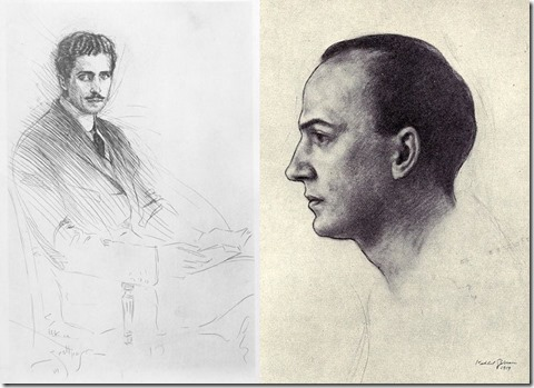 Ficke and Bynner drawings