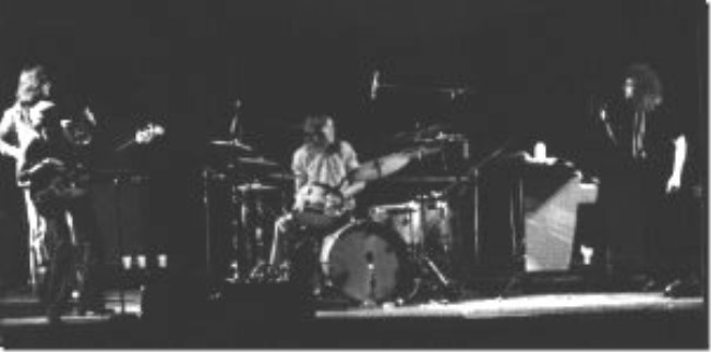 King Crimson with Mellotron on stage