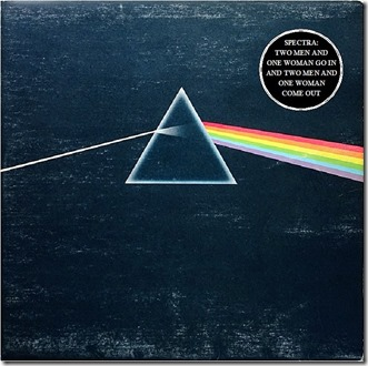 Spectra Poets Dark Side of the Moon LP Cover
