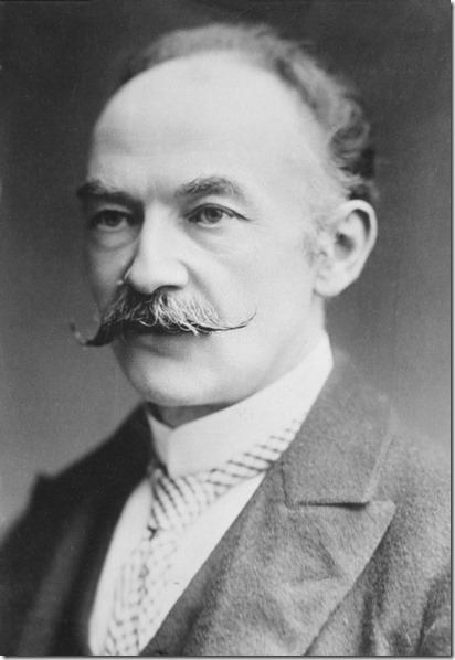 Thomas Hardy Moustache wax abuser